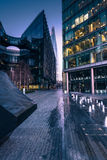 Southwark in London,business offices at sunrise. With filtered effect Stock Photography