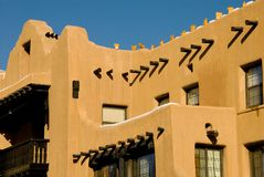 Southwest adobe architecture Royalty Free Stock Photo