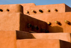 Southwest adobe architecture Royalty Free Stock Images