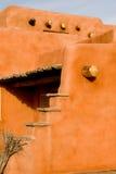 Southwest adobe architecture Royalty Free Stock Photo