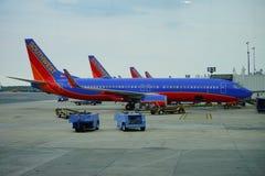 Southwest Airlines στοκ φωτογραφία με δικαίωμα ελεύθερης χρήσης
