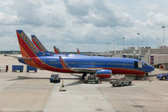 Southwest Airlines Royaltyfri Foto