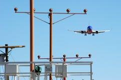 Southwest Airlines 737 à l'approche Image stock