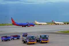 Southwest Airlines royalty-vrije stock foto's