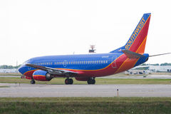 Southwest Airlines Boeing 737 Royalty Free Stock Photos