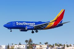 Free Southwest Airlines Boeing 737-700 Airplane San Diego Airport Stock Photo - 157992190