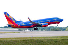 Southwest Airlines Boeing 737 Royalty Free Stock Image