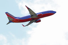 Southwest Airlines Boeing 737-3H4 Royaltyfri Fotografi