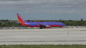 Southwest Airlines Boeing 737 jet stock video