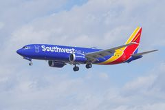 Southwest Airlines Boeing 737 max 8 Fotografia Stock