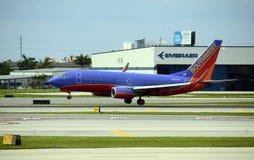 Southwest Airlines Boeing 737 passagerarestråle Arkivfoton