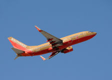 Southwest Airlines Boieng 737 Royalty Free Stock Photography