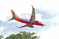Southwest Airlines Commercial Jet Stock Image