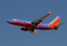 Southwest Airlines jet airplane Stock Photography