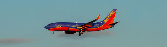 Southwest Airlines jet Royalty Free Stock Photos