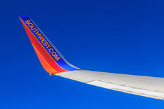 Free Southwest Airlines Jet Wingtip Stock Photography - 86338782