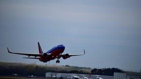 Southwest Airlines samolot na pasa startowego zdejmować fotografia royalty free