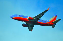 Southwest Airlines surfacent Photographie stock