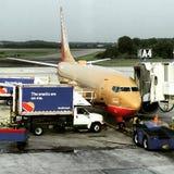 Southwest Airlines uzupełnianie Obrazy Stock