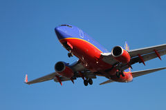 Southwest airplane Royalty Free Stock Photography