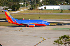 Southwest Airways Jet Royalty Free Stock Image
