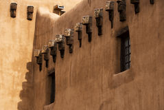 Southwest Architecture. In Santa Fe, New exico Royalty Free Stock Photography