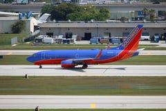 Southwest Boeing 737 Royaltyfria Foton