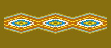 Southwest border pattern. Southwestern or American Indian style border pattern Royalty Free Stock Photo