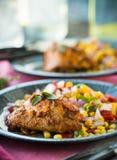 Southwest Chicken Royalty Free Stock Photo