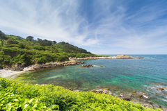 Southwest coast of Guernsey Stock Images