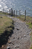 Southwest Coast Path at Baggy Point Stock Images