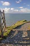 Southwest Coast Path at Baggy Point Royalty Free Stock Photo