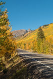 Southwest Colorado Highway in Fall Stock Photos