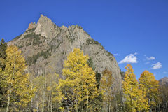 Southwest Colorado Mountains in Fall Stock Photography