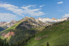 Southwest Colorado Mountains Royalty Free Stock Photography