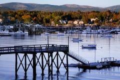 Southwest Harbor. Mount Desert Island, Acadia National Park, Maine royalty free stock images