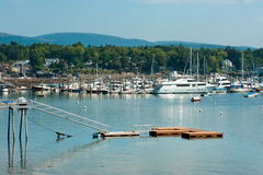 Southwest Harbor, Maine Royalty Free Stock Photography