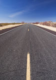Long straight highway Royalty Free Stock Images