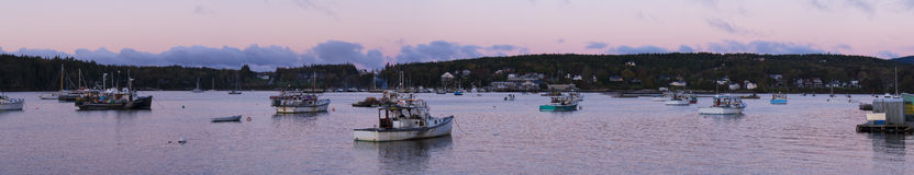 Southwest Maine Harbor Royalty Free Stock Image