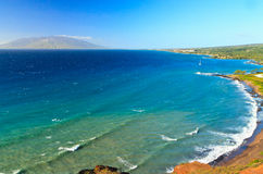 Southwest Maui coastline Royalty Free Stock Photos