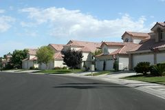 Southwest neighborhood Stock Image