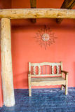 Southwest New Mexico Porch Royalty Free Stock Images