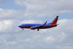 Southwest Passenger Jet Airliner Royalty Free Stock Image