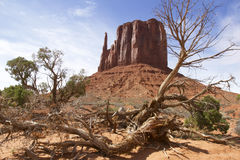 Southwest Rock Mesa Stock Photography