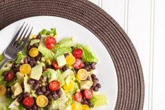 Southwest Salad cropped off shot Stock Images