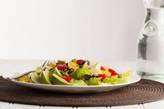 Southwest Salad horizontal shot Stock Image