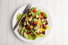 Southwest Salad no water Stock Images