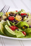 Southwest Salad side view Royalty Free Stock Photography