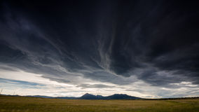 Southwest states travel, USA. Wide open range in Alamosa County, Colorado Stock Photos