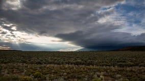 Southwest states travel, USA. Wide open range in Alamosa County, Colorado Royalty Free Stock Photos